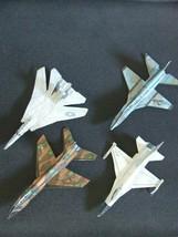 Set #2 - 4 Cut & Glue Paper Airplane Gliders - $13.81