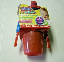 Baby Wash Or Toss Stackable Trainer Cups By Nuby, 7 Ozs., 6 Months+, Brand New - $7.99