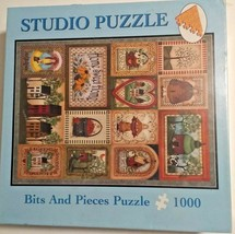 A Country Welcome Bits and Pieces 1000 Piece Studio Puzzle Factory Sealed - $19.62