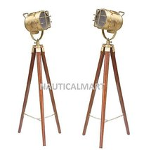 1960'S Archie Single Wooden Tripod LAMP- Set Of 2 - $108.90