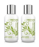 LuxeOrganix Travel Shampoo and Conditioner Set: TSA Approved, Cruelty an... - $19.20