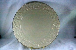 """Lenox Embossed Scrolls #L195 Charger/Round Platter 11 1/2"""" - $24.29"""