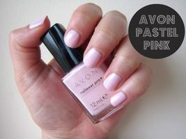 """Avon Nailwear Pro+ Nail Enamel """"Pastel Pink"""" - $4.25"""