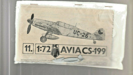 KP Plastikovy Czechoslovakia AVIA CS-199 Airplane Model Kit 1/72  Bagged - $557.75