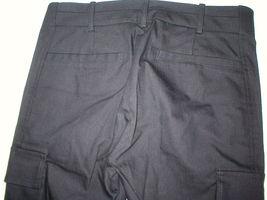 New Womens Designer NWT LAMB Gwen Stefani Cargo Pants Stretch Skinny 6 Black image 7
