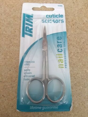 Trim Professional Quality Cuticle Scissors. Stainless Steel - 1ct