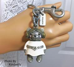 COACH Star Wars Keychain Bear Princess Leia Limited Edition Bag Charm NWT - $89.09