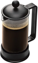 Bodum Brazil French Press Coffee Maker, 12 Ounce.35 Liter, 3 Cup, Black - £15.28 GBP