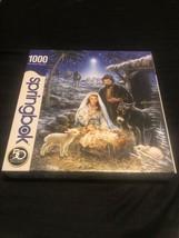 Springbok (10784) 1000 Piece Jigsaw Puzzle Savior is Born - $29.01