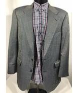 Burberry Jacket Sport Coat Blazer Windowpane Plaid Nova Check Men's 40 R - $49.99