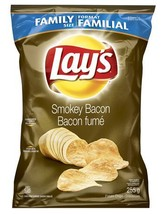 Lays Smokey Bacon Flavour Chips 4 Bags Canadian  - $64.99