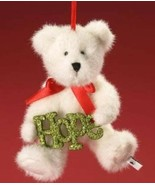 "Boyds Bears Christmas Bear Ornament ""Hope Sparklewish"" By Enesco Glitter... - $14.00"
