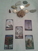 The Burning Serpent Oracle Lenormand Reading With Five Cards. One Question - $25.55
