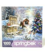 Springbok 1000 Piece Jigsaw Puzzle Country Christmas Store Nicky Boehme - $24.49