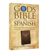 God's Bible in Spanish | English or Spanish | by Emanuel Rodriguez | Chick Publi - $11.97