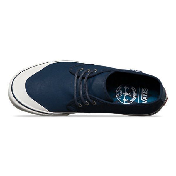 VANS Prairie Chukka (PVW) Waxed Navy Boots Skate Shoes Men's 7 Women's 8.5 image 4