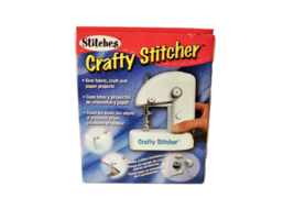 NEW! Stitches Crafty Stitcher Sewing Machine, Sew on Cloth or Paper! image 2