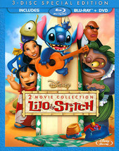 Disney Lilo & Stitch: Two-Movie Collection [Blu-ray + DVD]