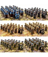 21pcs/set WW2 Army Troops France Italy Japan US Britain China Soldiers Toys - $19.99