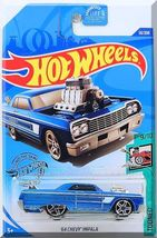 Hot Wheels - '64 Chevy Impala: Tooned #9/10 - #58/250 (2020) *Blue Edition* - $2.50