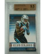 2014 Rookies & Stars Kelvin Benjamin Panthers #157A BGS 9.5 - $18.67