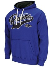 Baltimore Ravens Hoodie Men's NFL Wild Card Pullover Fleece Hooded Sweatshirt