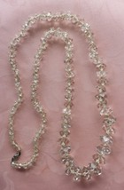 Antique Art Deco Rock Crystal Necklace - $150.00
