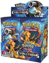 XY Evolutions 9 Booster Pack Lot 1/4 Booster Box POKEMON TCG Free Shipping - $37.99