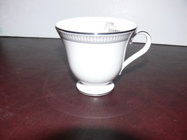 Waterford Carina Platinum - Tea Cup & Saucer - New - $19.99