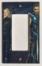Infinity war Thor Black Widow Switch Power Outlet Wall Cover Plate Home Decor image 3