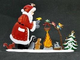 """ARTIST WILHELM SCHWEIZER GERMAN ZINNFIGUREN Woodland Christmas (5.25""""x 3... - $124.00"""