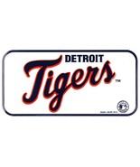 "Detroit Tigers 3"" x 6"" Embossed Metal Novelty Bicycle Tag Bike Plate - $4.76"