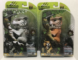 Fingerlings Untamed SILVERTOOTH &  BONESAW Sabretooth Tigers   Set 40+ S... - $29.65