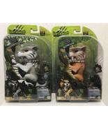 Fingerlings Untamed SILVERTOOTH &  BONESAW Sabretooth Tigers   Set 40+ S... - $29.65