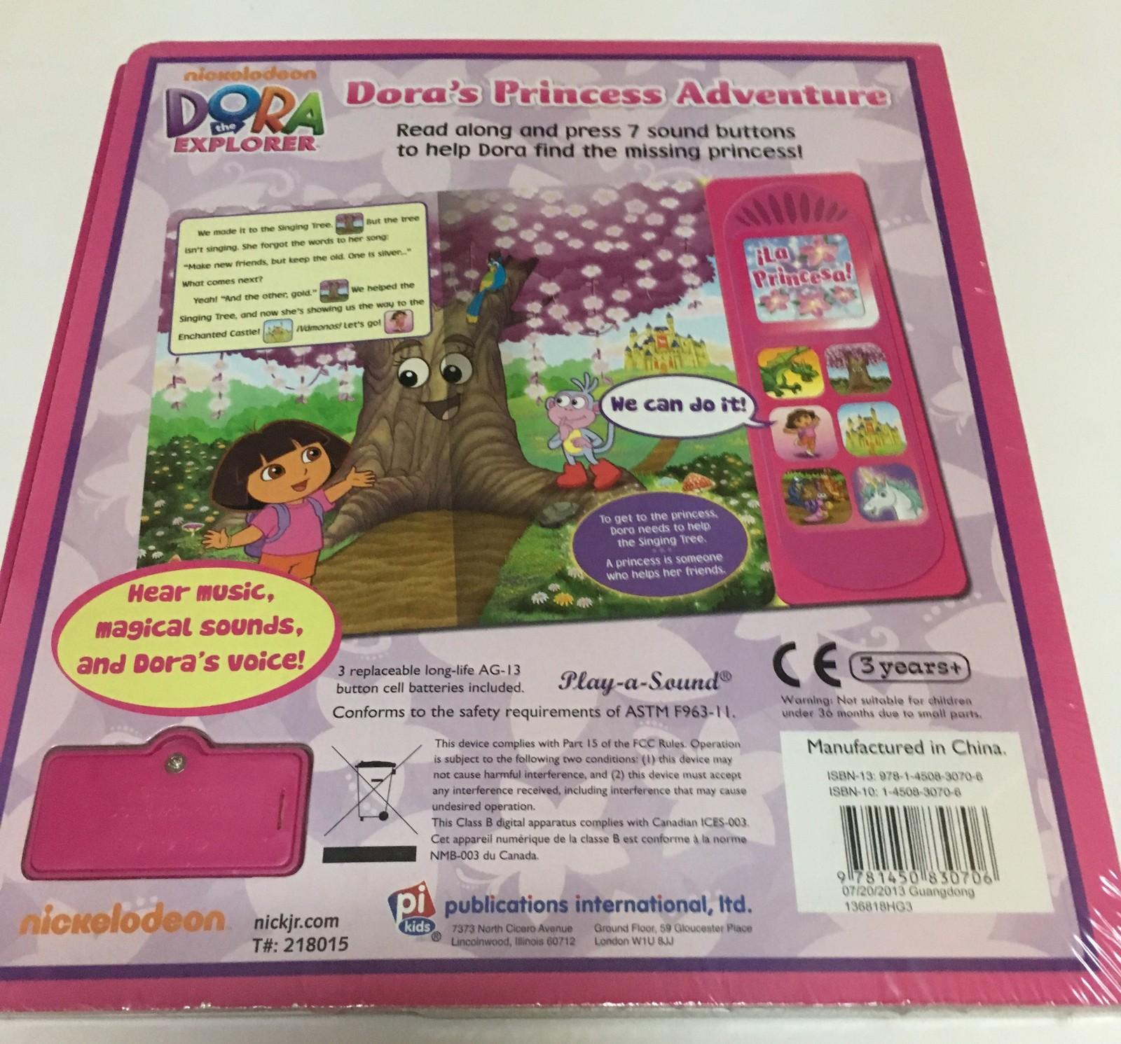 Nickelodeon Dora's Princess Adventure Activity Book 3+