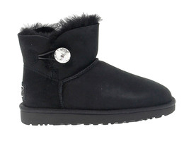 Ankle boot UGG AUSTRALIA 6554 in black suede leather - Women's Shoes - $272.46