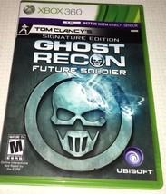 Tom Clancy's Ghost Recon Future Soldier Signature Edition Microsoft Xbox... - $9.49