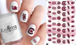 USC Gamecocks Nail Decals (Set of 51) - $4.95