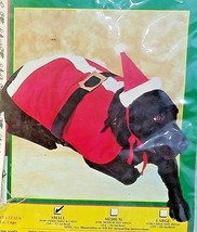 Rubie's Costume Co Santa Claus Pet Costume Small 50453 Made in the USA - £11.26 GBP
