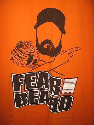 San Francisco Giants California Béisbol Brian Wilson Fear The Beard Camiseta XL