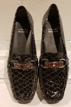 Stuart Weitzman Womens Buzz Gatortail Jeweled Brown Loafer Shoes  $335 S... - $53.18