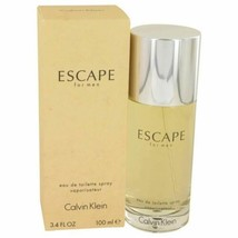 Cologne ESCAPE by Calvin Klein 3.4 oz Eau De Toilette Spray for Men - $26.12