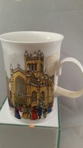 Christmastime Mug Fine Bone China Sue Scullard England Dunoon Dickens S... - $17.75