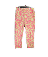 LILLY PULITZER SIZE 6 PINK DUNE BUGGY Capri Lady Bug Pants (28 x 24 Actual) - $18.52