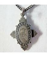 Morecambe Musical Festival Vtg English Sterling Necklace 1929 stamps JF ... - $395.99