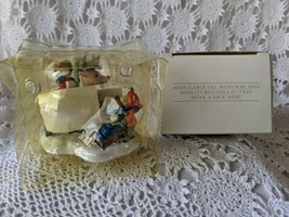 Avon Carousel Wonderland Miniatures Collection Have A Nice Ride - $9.69