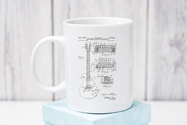 Gibson Les Paul Patent Coffee Mug - $11.99