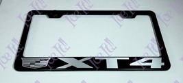 For XT4 Cadillac Stainless Steel Black License Plate Frame W/ Bolt Caps - $12.86