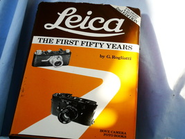 Leica The First 50 Years Hard Back Book - Great Reference / Gift - - $35.00