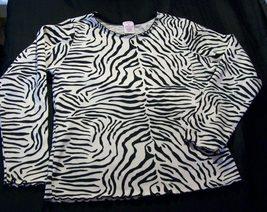 "Girls ""Gymboree"" Zebra Print Top Size 9  FREE SHIPPING - $9.99"